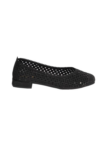 Mhd 321 Platin Kadın Günlük Ayakkabı Siyah